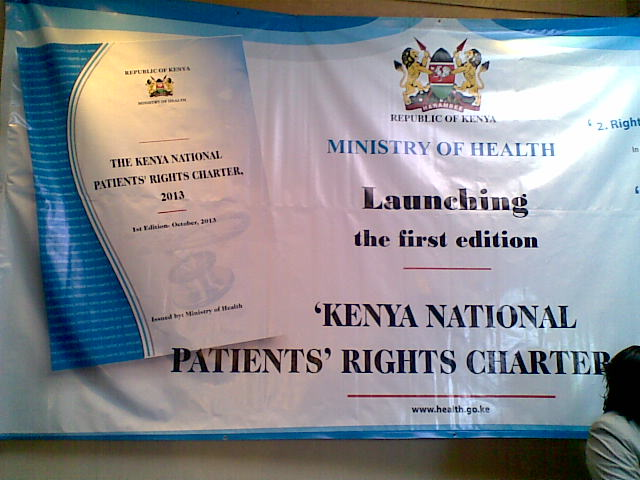 Launch Of The Patients' Right Charter
