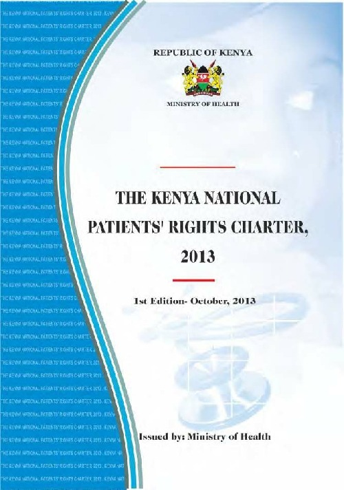The Benefits of THE PATIENT RIGHTS CHARTER.